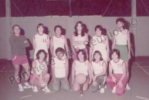 équipe honneur filles 1984